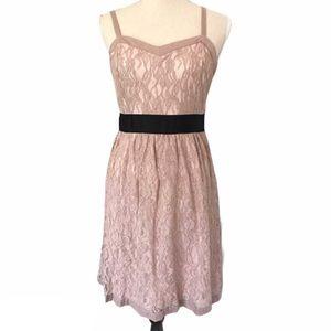 ELLE   Lace Dress